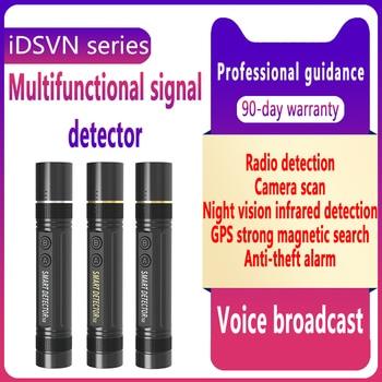 Mini Bug Detector GSM GPS Spy Hidden Camera Finder IR RF Cam Wireless Signal Voice Broadcasting Scanning Anti-Theft Anti-track 4