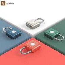 Youpin Usb Oplaadbare Smart Keyless Elektronische Vingerafdruk Slot Thuis Anti Diefstal Veiligheid Hangslot Deur Bagage Case Lock
