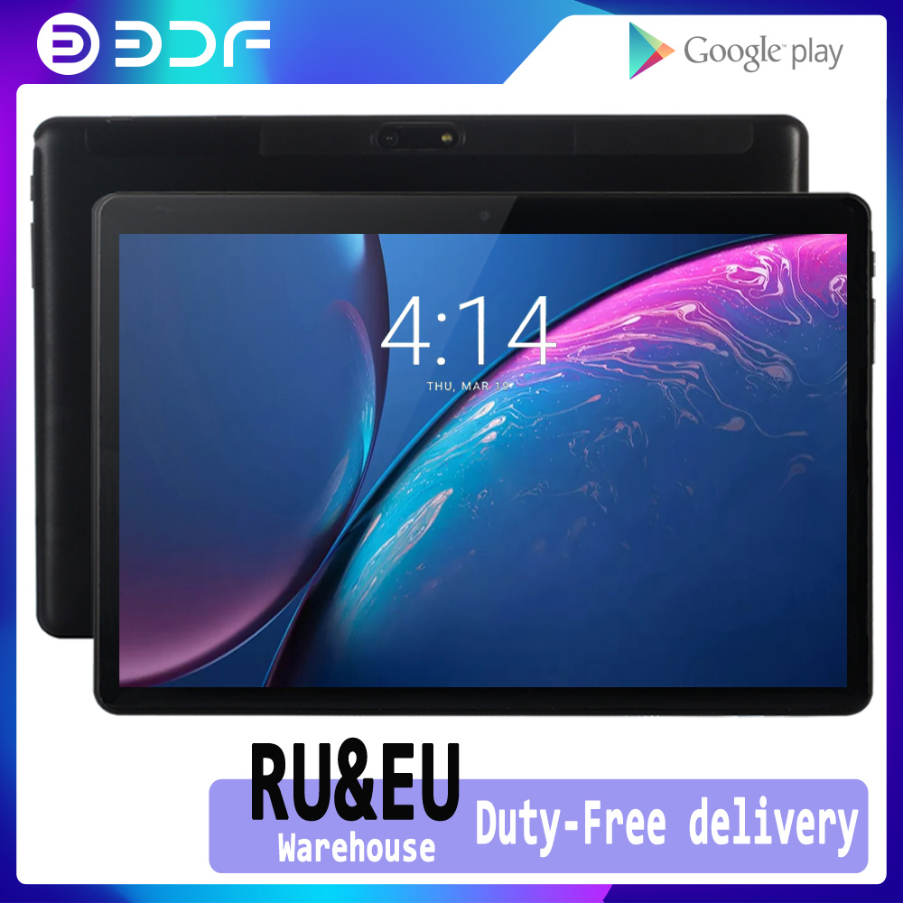 New 10 Inch Android 7.0 Tablet Quad Core Tablets IPS LCD Dual SIM Card 3G Phone Call  1G RAM 32G ROM GPS WiFi Bluetoot Tablet Pc