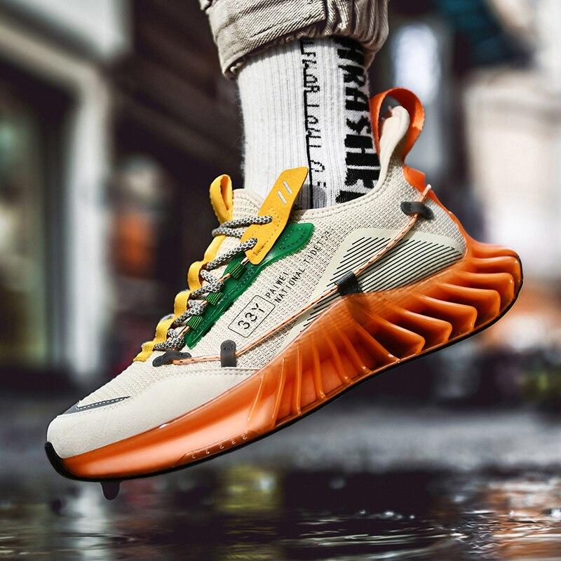 Купить niewe 2020 mannen loopschoenen ademende спортивная обувь на