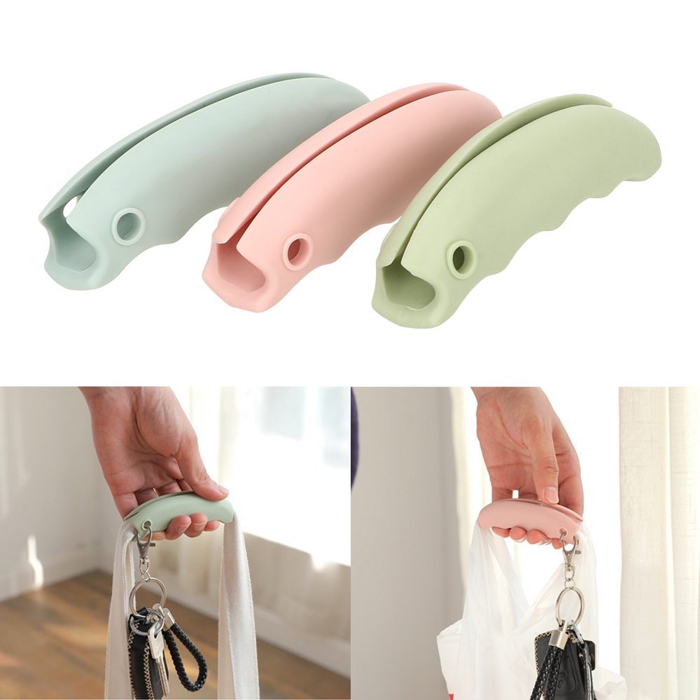 Comfortable  Kitchen Gadgets Mention Dish Carry Bag 1 Piece Save Effort Tool Convenient Bag Hanging  Silicone
