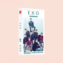 1660pcs/Box EXO Postcards Post Card Message Gift