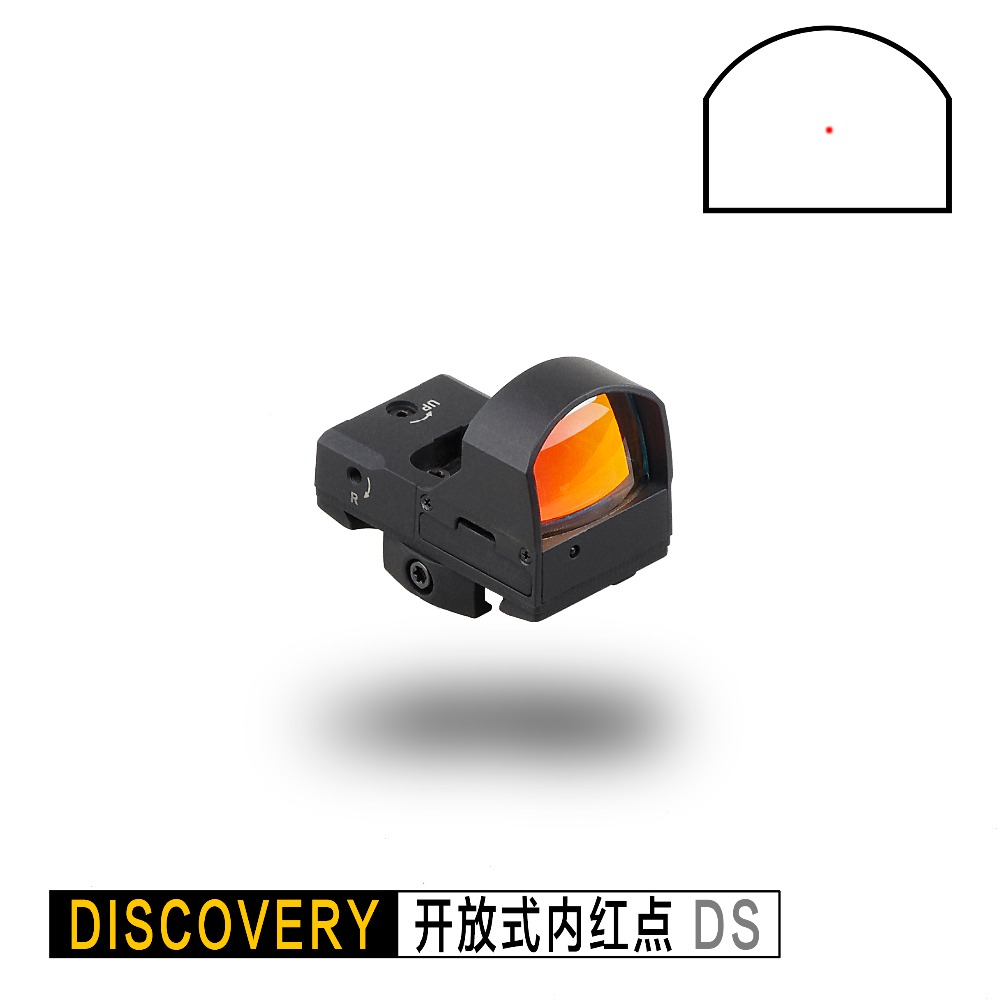 Discovery DS Micro Red Dot Scope Holographic Optical Tactical Sight 20mm Picatinny Rail For Hunting Rifle Scope Collimator