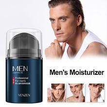 VENZEN Men Hyaluronic Acid Face Cream Deep Moisturizing Oil-control Day Cream Lift Anti-Wrinkle Firming Shrink Pores Whitening