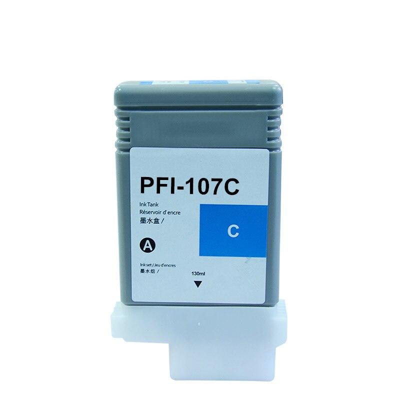 Image 3 - PFI 107 Совместимый картридж для Canon IPF670 IPF680 IPF685  IPF770 IPF780 IPF785 IPF 670 IPF 770 IPF 670 770 PFI107 PFI  107Чернильные картриджи