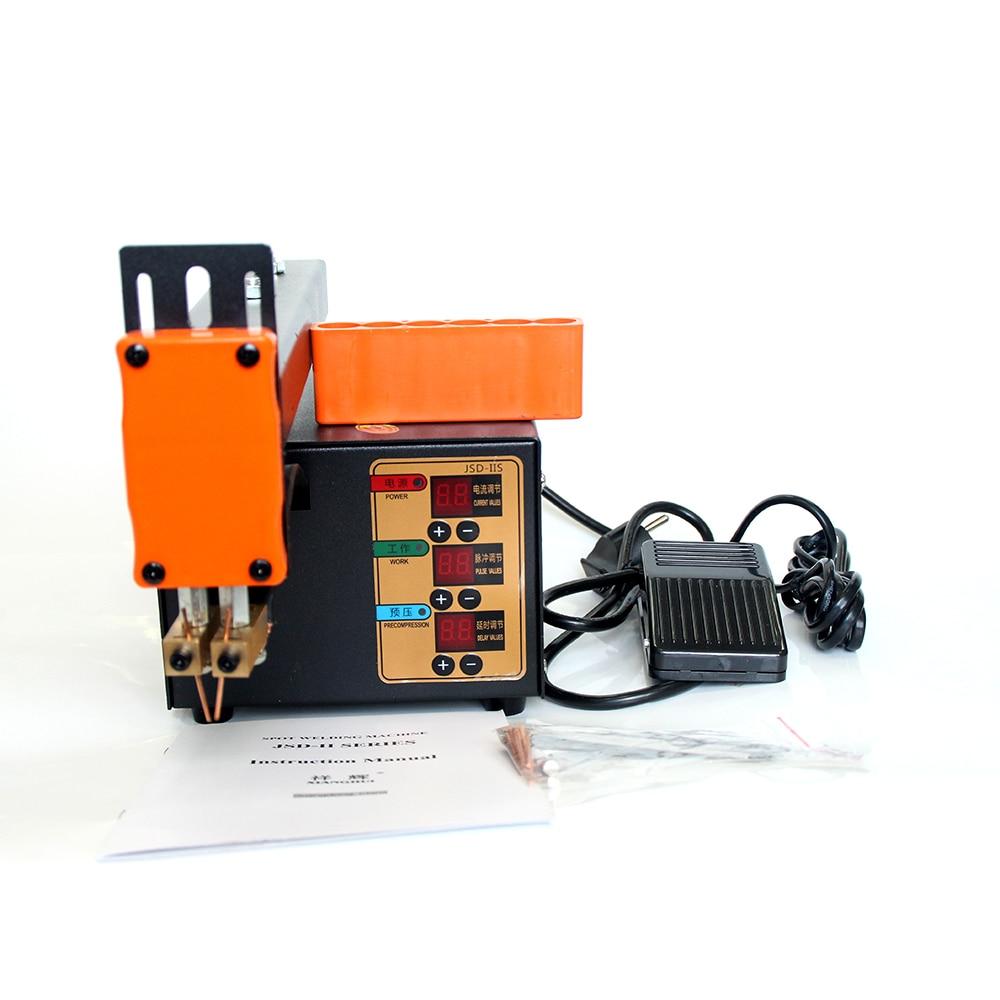 High Power Spot Welder 3KW For 18650 Lithium Battery Pack Weld Spot Machine Current Adjustable JSD-IIS