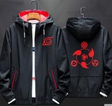 Anime Naruto Cosplay Costume jacket Uchiha Itachi 3D Printed Zip Hooded Sweatshirt Akatsuki Windbreaker A9001