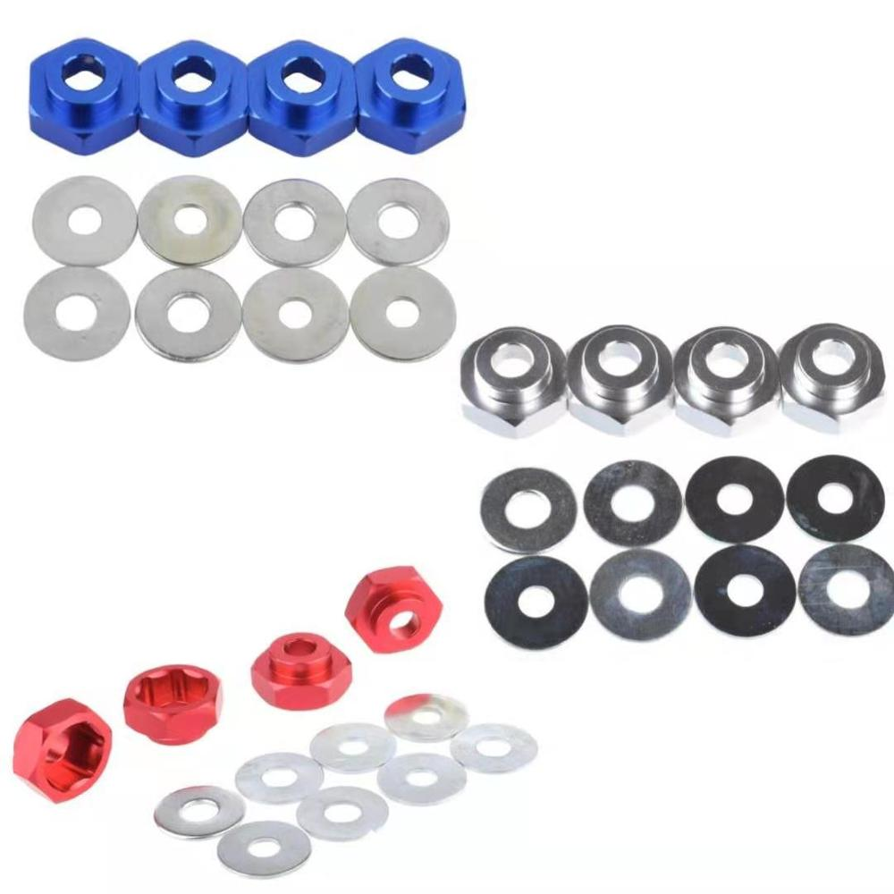 <font><b>RC</b></font> Aluminum 12MM to 17MM <font><b>Wheel</b></font> rim Hex Adapters for 1/10 <font><b>RC</b></font> On Road Car Buggy Truck image