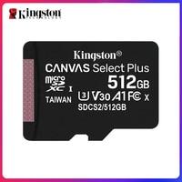 Kingston Ultra Micro SD 128 GB 32GB 64GB 256GB 16G Micro SD Card SD/TF Flash Card Memory Card 32 64 128 gb microSD per telefono
