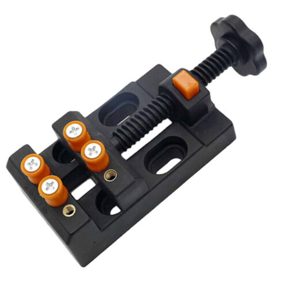 Mini Drill Press Vise Clamp For Jewelry Walnut Watch Seal Stamp Carving Tool *Handheld Use, Compact And Handy.
