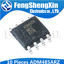 10pcs/lot  ADM485ARZ  ADM485 ADM485AR  SOP8  differential receiver signal  IC