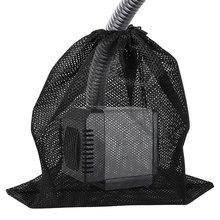 PUMP-FILTER Mesh-Bag Pond Black for Outdoor Large Polyester