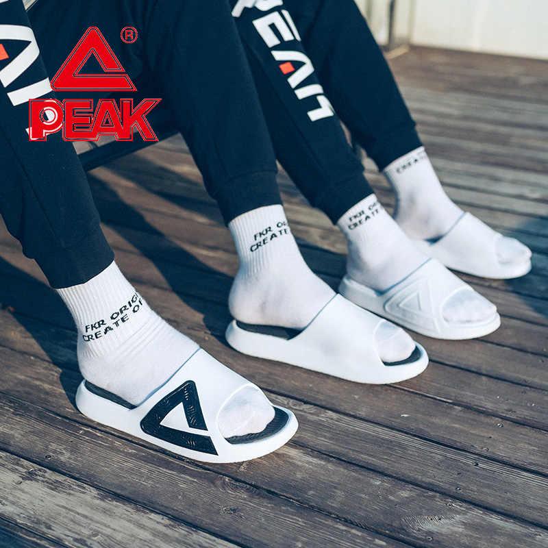 Pic TAICHI pantoufle hommes anti-dérapant élasticité porter plage sandales en plein air léger EVA semelle intermédiaire été pantoufles