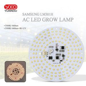 Image 1 - driverless ac 220v led grow light high tech led board LM301H Full spectrum 100w samsung 3000K,660nm Deep Red For Veg/Bloom