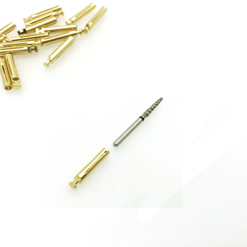 10pc Dental Burs Adaptor From FG High Speed And Low Speed Contra Angle Convertor