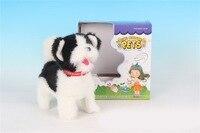 Children Plush Electric Toy Dog sheng kong gou Barking Smart Shake Tail Dog Model Puppy Machinery Dog