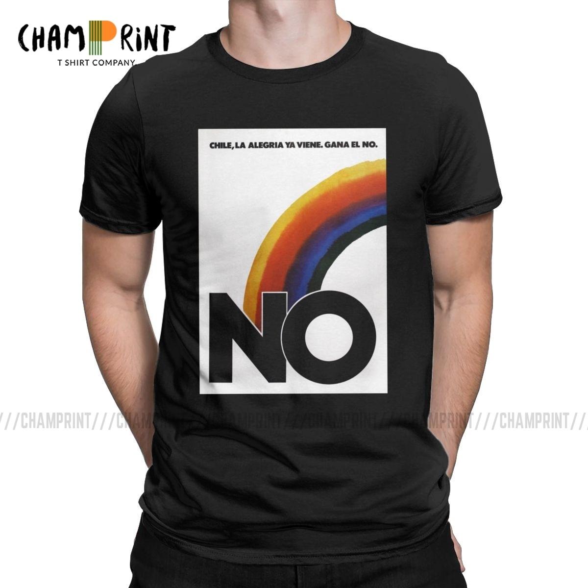 Men No Contra Pinochet T Shirt Contra NES Retro Video Game Cotton Clothes Vintage Short Sleeve Round Neck Tees Party T-Shirt