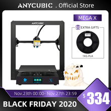 Anycubic 3D printer Mega X 300*300*305mm Printers Mega X Large Printing Size MeanwellPower Supply 3d Impressora