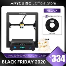 طابعة Anycubic ثلاثية الأبعاد Mega X 300*300*305 مللي متر طابعات Mega X مطبوعة كبيرة الحجم امدادات الطاقة متعددة الأبعاد Impressora