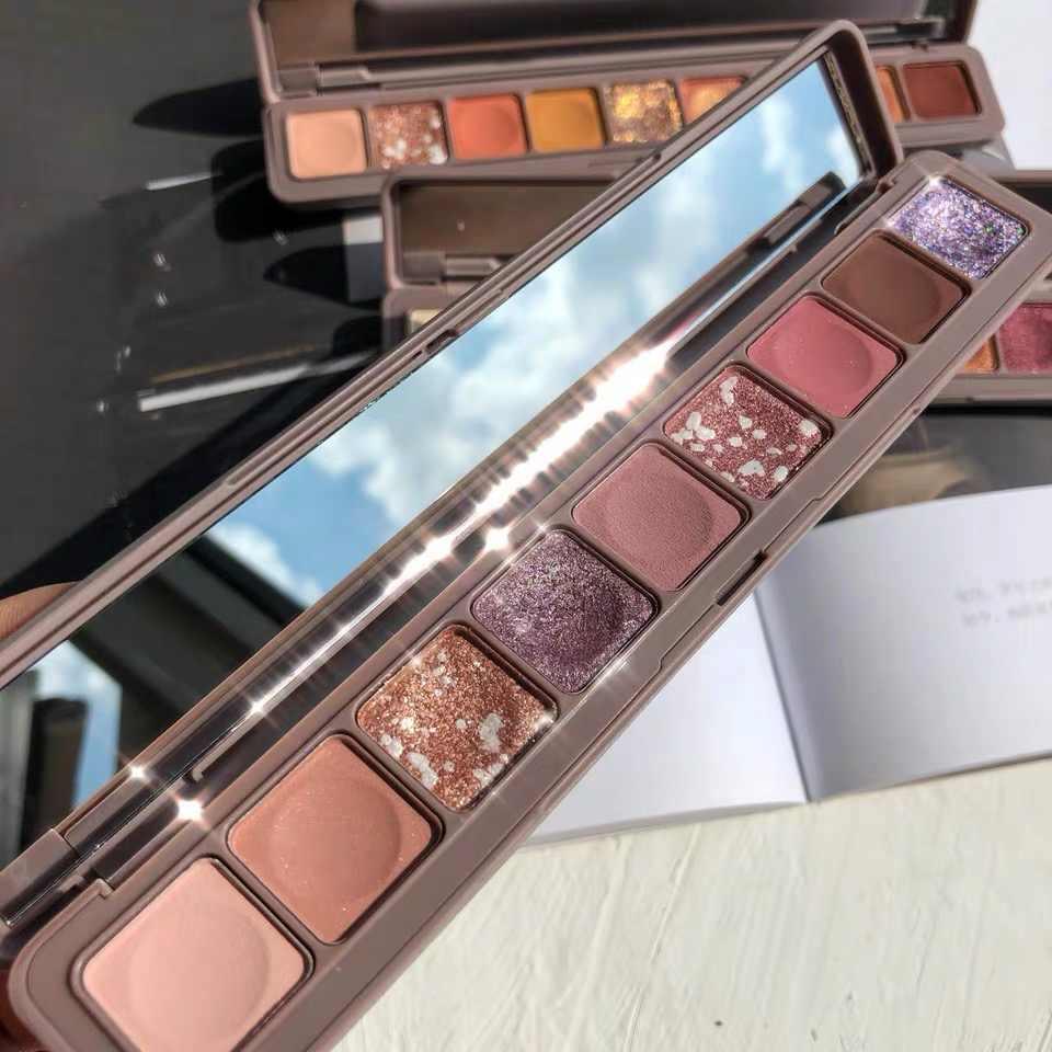 Mode novo fard à paupières Palette 9 couleurs mat fard à paupières Palette paillettes ombre à paupières maquillage beauté nue maquillage ensemble cosmétiques