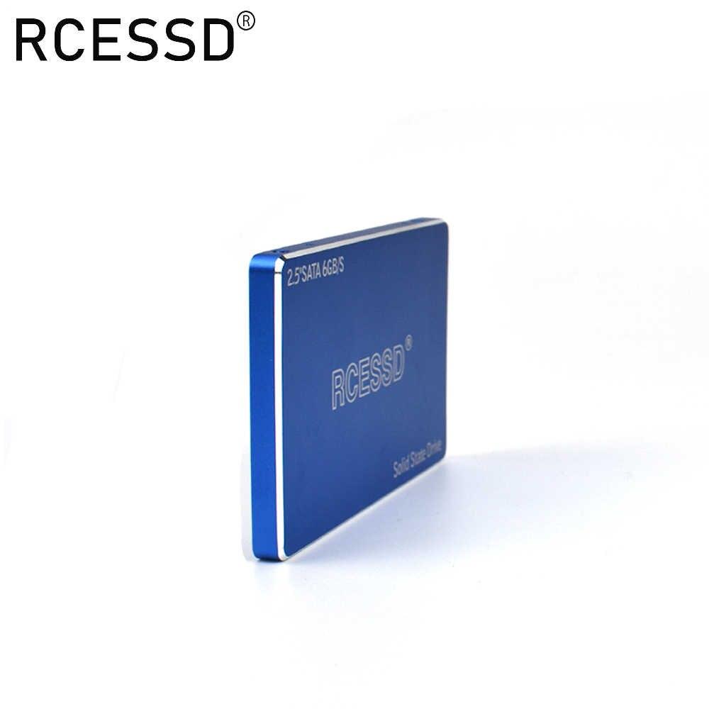 RCESSD מתכת SSD 2.5 ''SATA3 Hdd SSD 120gb ssd 240gb 480gb SSD 512GB פנימי מוצק מצב קשה כונן קשיח דיסק עבור מחשב נייד שולחן עבודה