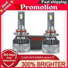 [New!] Super H4 Led Headlight H7 Led Canbus H11 Hb3 Hb4 9005 9006 H1 Car Bulbs Fog Lights 12v 100w 6000k 20000lm Lamps