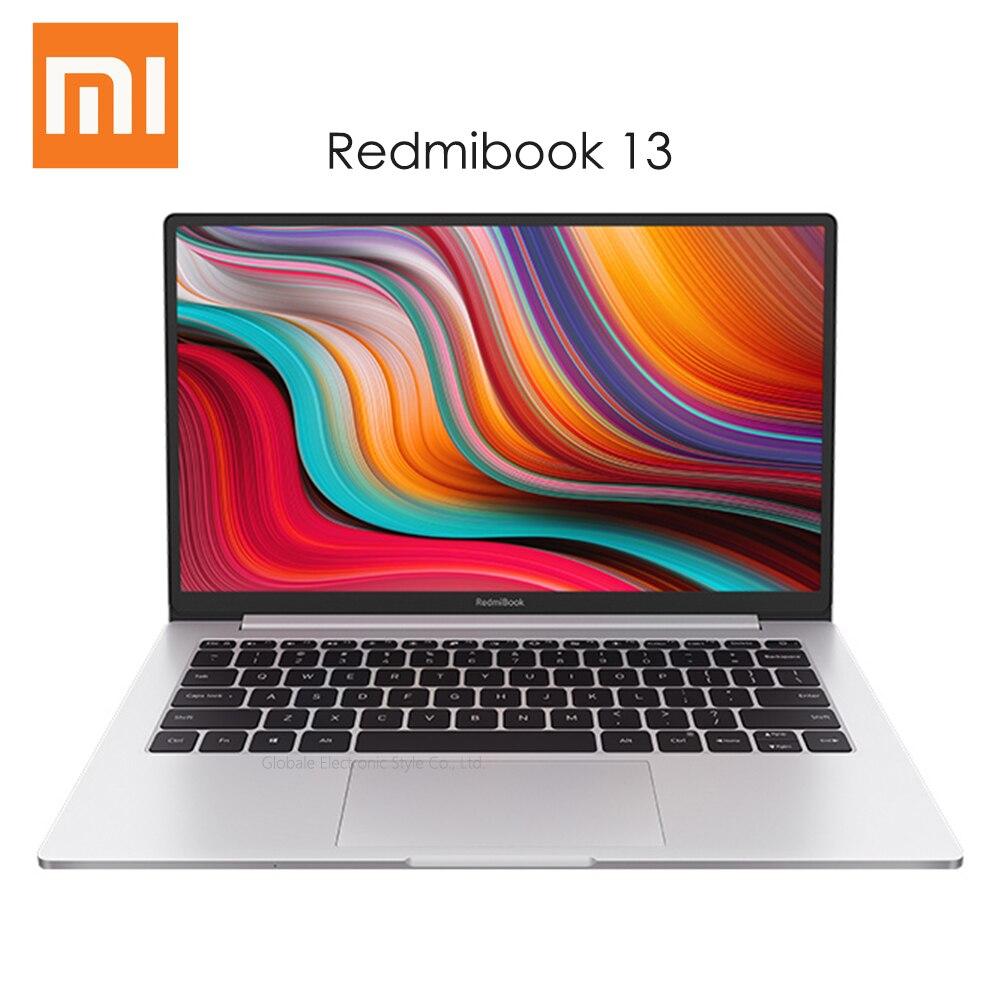 Оригинальный ноутбук Xiaomi RedmiBook 13 с Windows 10 Intel Core i5-10210U i7-10510U CPU 8 Гб DDR4 RAM 512 ГБ SSD ноутбук 13,3 дюйма