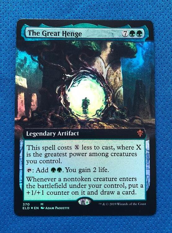 The Great Henge Throne Of Eldraine Foil Magician ProxyKing 8.0 VIP The Proxy Cards To Gathering Every Single Mg Card.