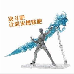 Звезда душа Святой Сейя Ткань Миф крепление Lu Rise Дракон эффект и база для Bandai весы EX Gold Dohko бронза Shiryu SX021 *