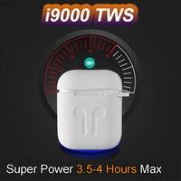 I9000 TWS наушники-вкладыши Smart sensor Air 2 оригинальные 1:1 5,0 Bluetooth Наушники Беспроводные водонепроницаемые наушники PK i200 i10000 tws