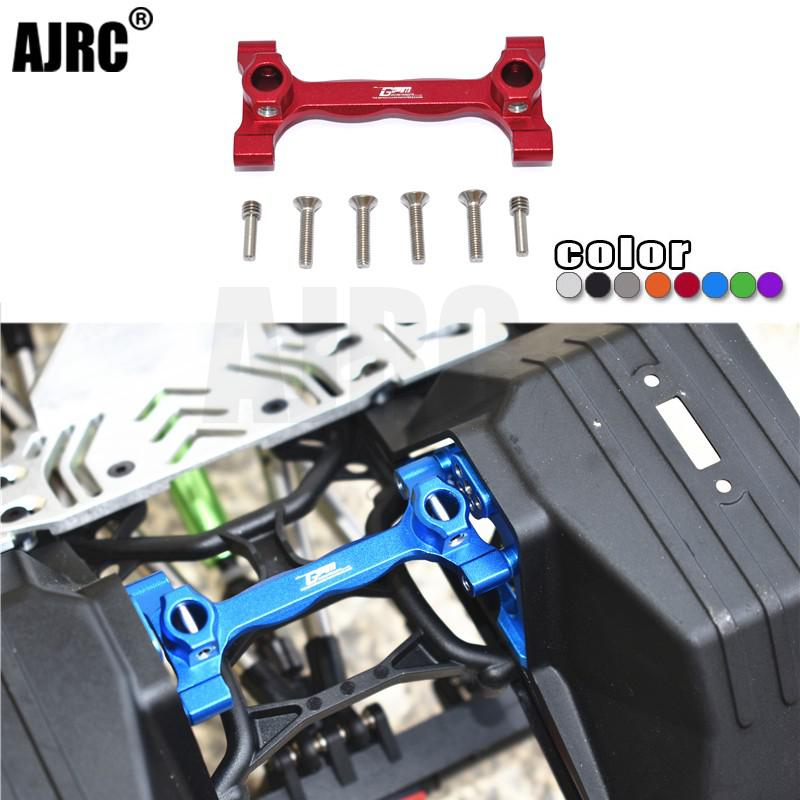 Axial AXI03007 SCX10 III Jeep Wrangler aluminum alloy rear body keel support frame Side Plates & Chassis Brace AXI231021