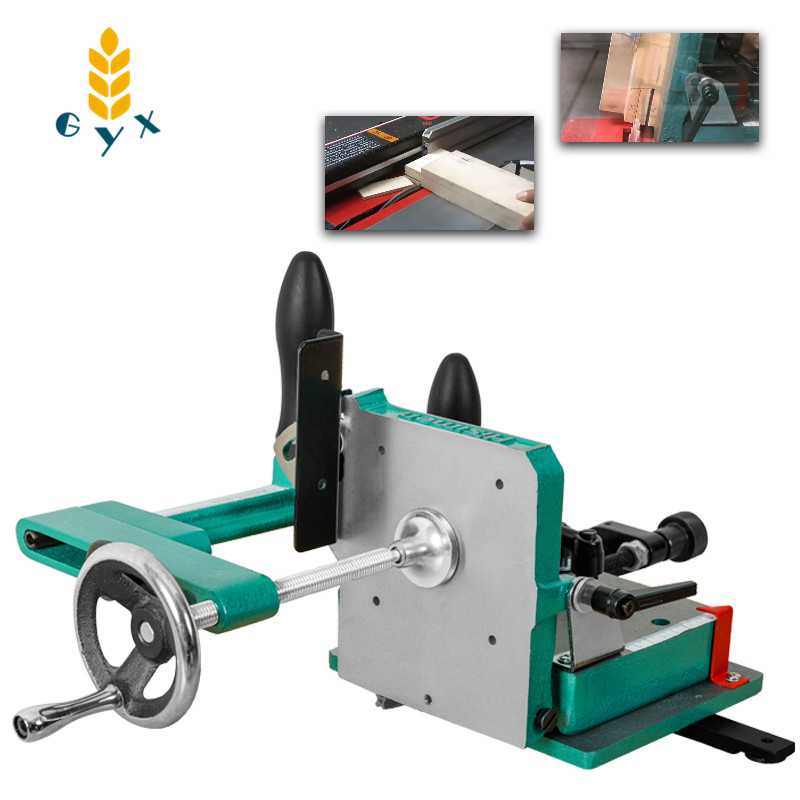 Woodworking tongue and groove fixing device / Woodworking table saw special tongue and groove machine / Woodworking tools