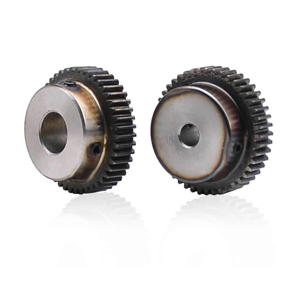 45# Steel Motor Spur Pinion Gear 1.5Mod 35T Outer Dia 55.5mm Bore 16mm x 1Pcs