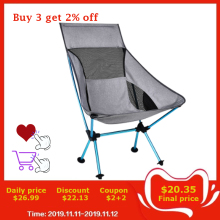 Moon Chair Extended Pocket Hiking-Seat Folding Office Ultralight Home-Furniture Fishing