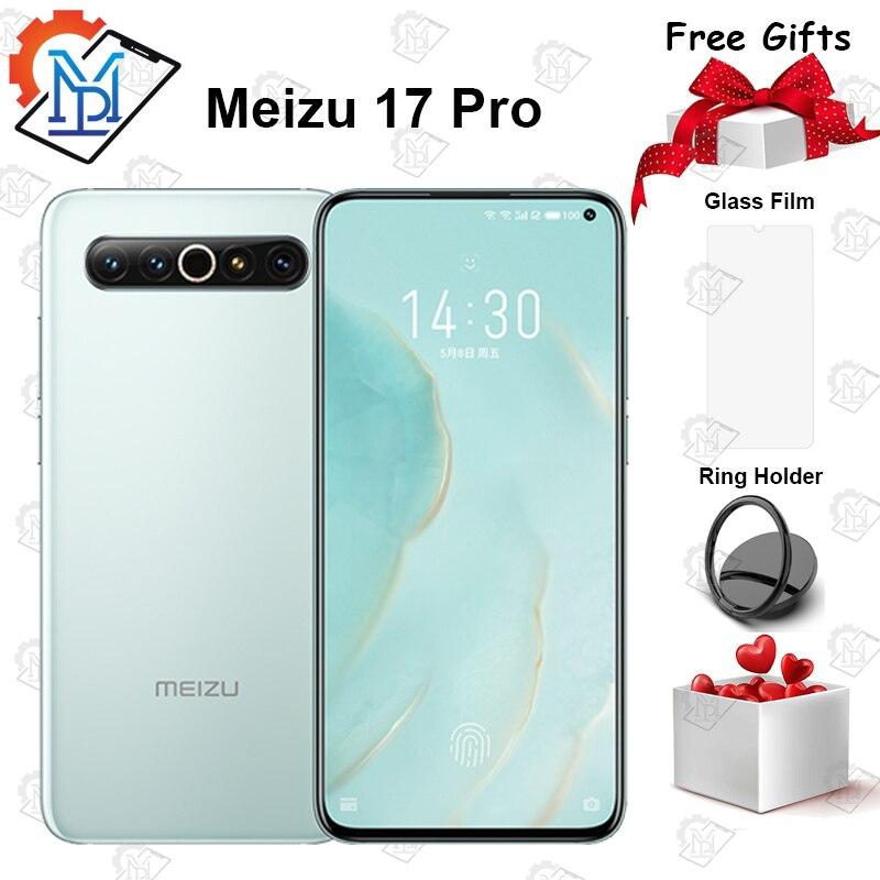 Original Meizu 17 Pro 5G Mobile Phone 6.6 Inch 8GB+128GB Snapdragon 865 Octa Core Android 10 64.0MP Quad Cameras NFC Smartphone