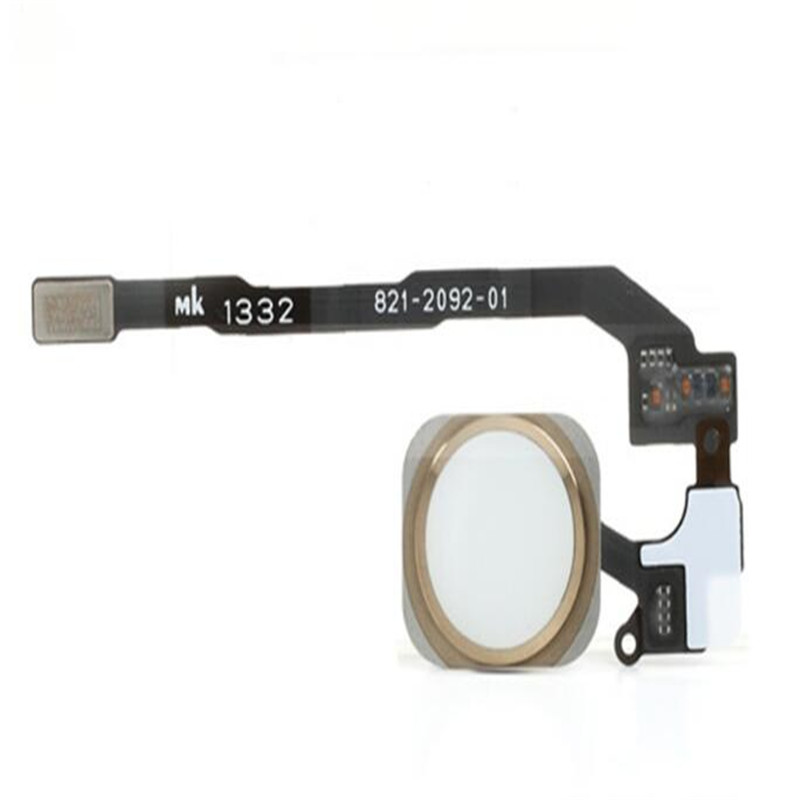 For IPhone 5S Home Button Flex Cable With Fingerprint Touch ID Sensor Assembly Parts