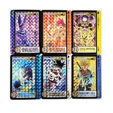 9pcs/set Dragon Ball Super Signature Refraction Super Saiyan Goku Vegeta Hobby Collectibles Game Anime Collection Cards