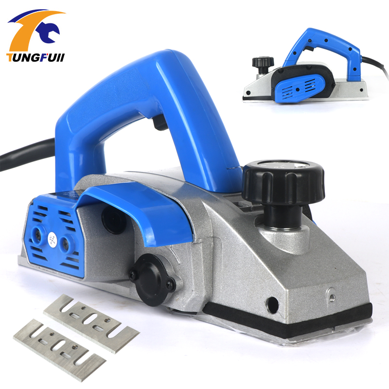 220V 1280W Powerful Electric Planer Wooden Handheld Planer Carpenter Woodworking File Tool Home DIY Power Tools Kit 850W 1000W