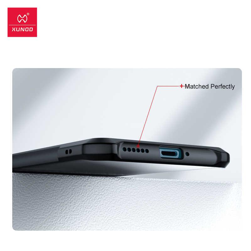 Xundd untuk Huawei Honer P40 Pro Plus P40 Lite 4G 5G Case Tahan Guncangan Transparan Soft Shell silikon Airbag Case