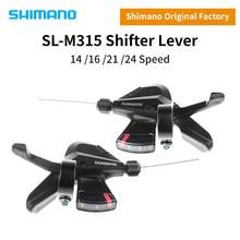 SHIMANO Altus SL-M315 SL-M310 MTB Shifter 2X7 2X8 3x7 3x8 2 3 7 8 14 16 21 24 S Velocidade Mountain Bike Alavanca de Câmbio Conjunto Gatilho