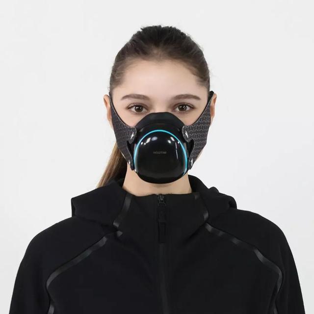 Youpin Hootim Electric Anti-Haze PM2.5 Sterilizing Anion Mask Dustproof Anti-fog Breathable Electric Face Masks 1