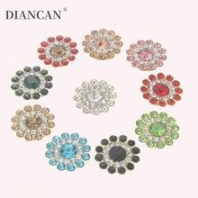 10 шт декоративные цветы и кристаллы 14 мм