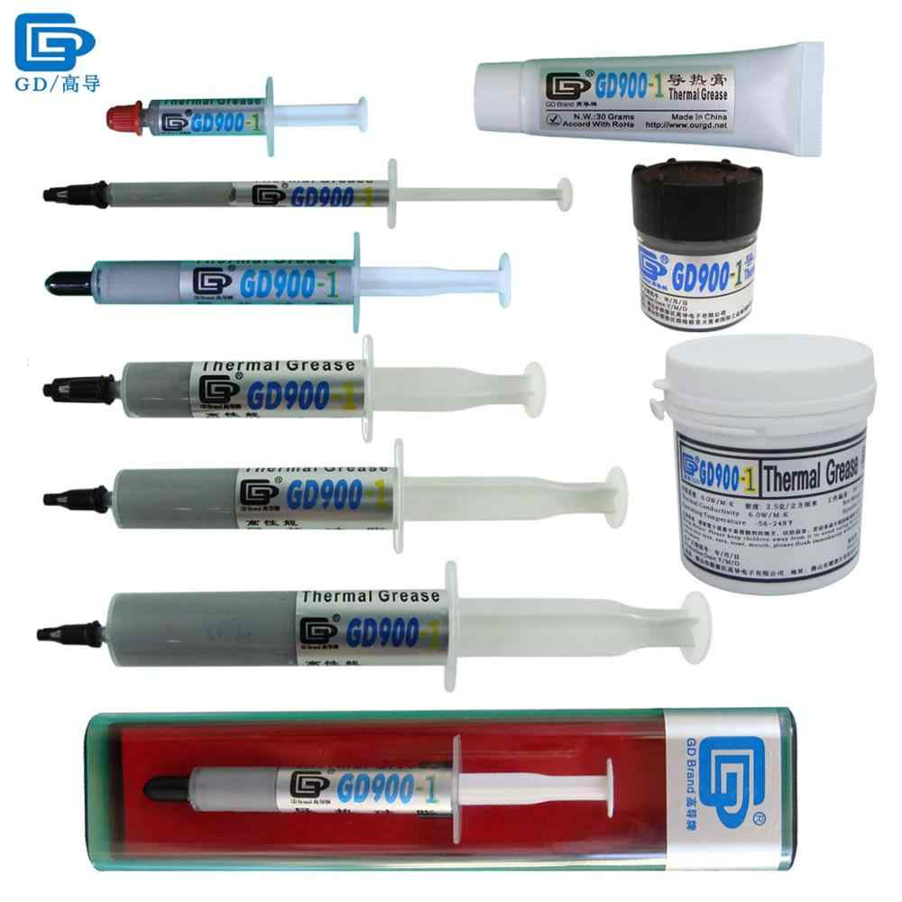 GD900-1 Heat Sink Compound Thermal Conductivity Grease Paste Containing Silver SSY1 SY1 SY3 SY7 SY15 SY30 BX3 ST30 CN30 CN150