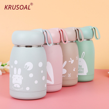 360ML Stainless Steel thermos Bottle Mug Vacuum Flasks Belly Cup Thermal Bottle For Water Insulated Tumbler For kids coffee joudoo 550 750ml stainless steel thermos for water bottle insulated tumbler cups coffee travel vacuum flasks thermal kettle 35