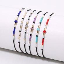 Rttooas mini miyuki браслеты из бисера ручной работы Плетеный