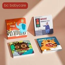 BC Babycare-rompecabezas cognitivo para bebé, tarjeta de juguete para niños, imagen cognitiva, tarjeta flash, aprendizaje educativo temprano, juguetes de interacción divertidos