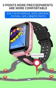 Image 3 - IP67 مقاوم للماء الذكية لتحديد المواقع موقع SOS دعوة عن بعد كاميرا مراقبة ساعة اليد تعقب الاطفال الأطفال الطلاب الفيسبوك ساعة Whatsapp
