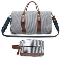 Men and Women Weekend Travel Bag Duffel Tote Canvas Luggage Shoulder Bag for Travel Camping Hiking