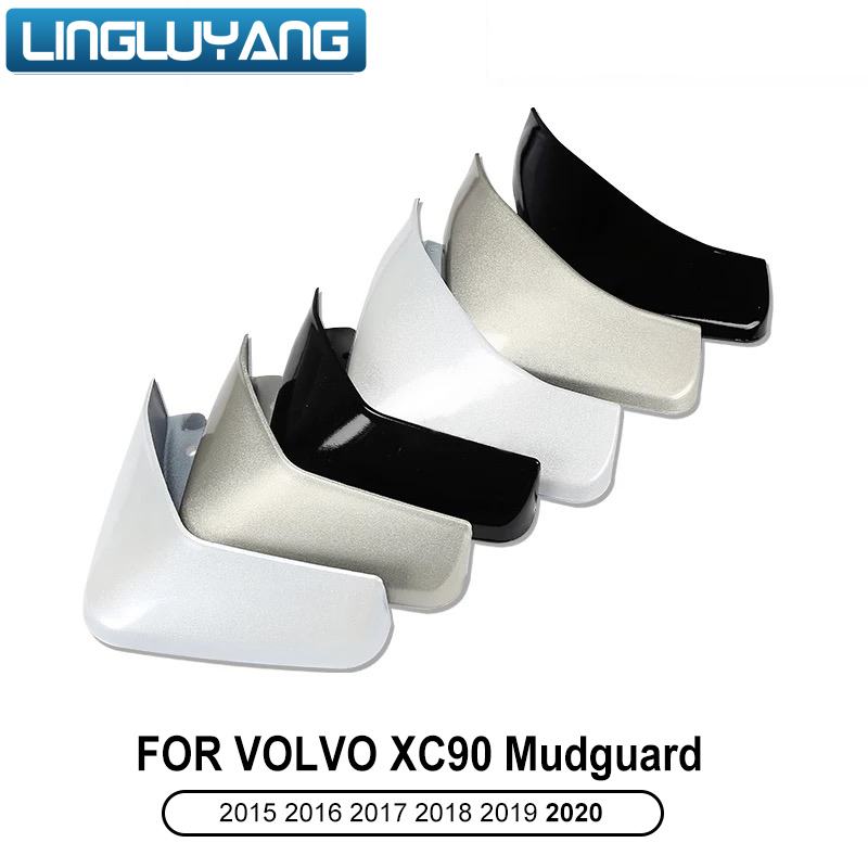 2015 <font><b>2016</b></font> 2017 2018 2019 2020 for <font><b>Volvo</b></font> <font><b>XC90</b></font> white/black/gray original car fender ABS plastic paint mudguard <font><b>accessories</b></font> fender image
