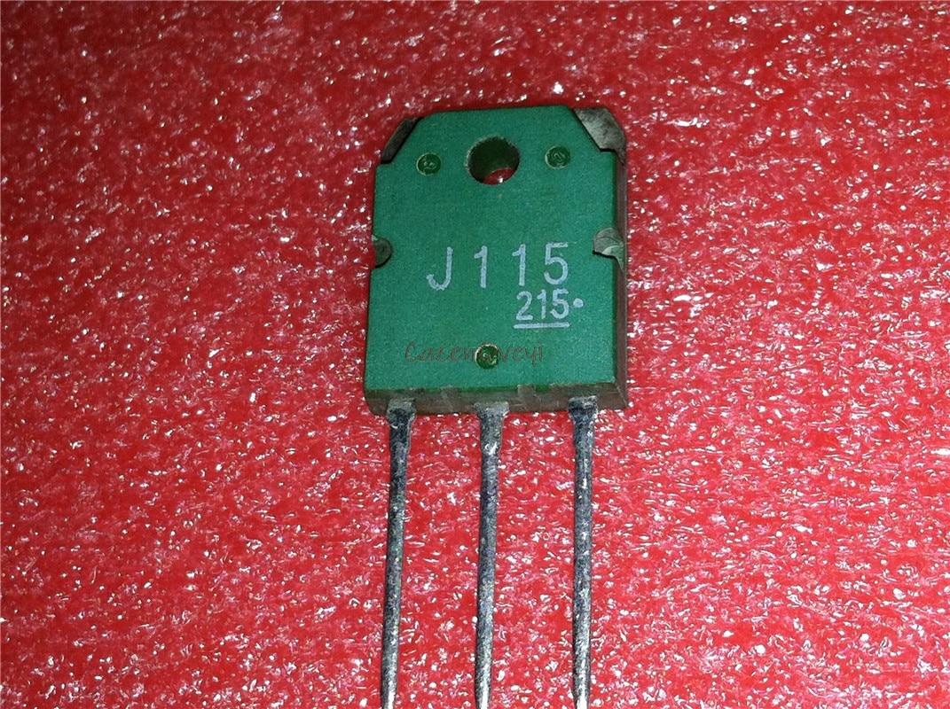 2pcs/lot = 1pair 2SK405 2SJ115 K405 + J115 TO-3P